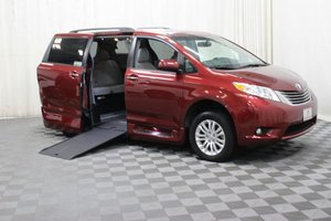 Used Wheelchair Van For Sale: 2017 Toyota Sienna XLE Wheelchair Accessible Van For Sale with a AMS Vans Genesis on it. VIN: 5TDYZ3DCXHS812316