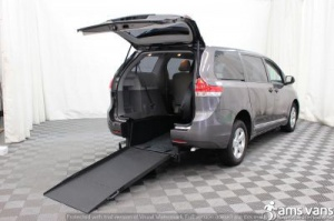 New Wheelchair Van For Sale: 2014 Toyota Sienna  Wheelchair Accessible Van For Sale with a Able2Go Exodus on it. VIN: 5TDZK3DC6ES473431