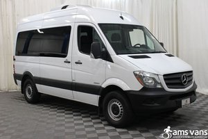 Used Wheelchair Van For Sale: 2016 Mercedes-benz Sprinter BE Wheelchair Accessible Van For Sale with a AMS Vans Sprinter Rear / Side on it. VIN: WDZPE7DD6GP294009