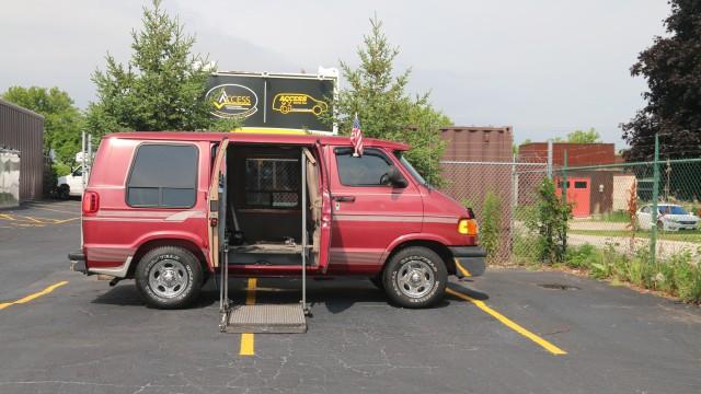 Manual Chrysler Rear Entry Wheelchair Van Conversion