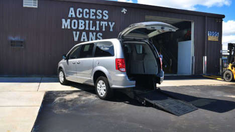 Used Wheelchair Van For Sale: 2017 Dodge Grand Caravan S Wheelchair Accessible Van For Sale with a BraunAbility Dodge Manual Rear Entry on it. VIN: 2C4RDGBGXHR756399
