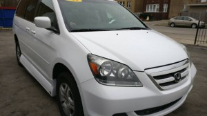 Used Wheelchair Van For Sale: 2007 Honda Odyssey EX Wheelchair Accessible Van For Sale with a VMI - Honda Northstar on it. VIN: 5FNRL38487B074009