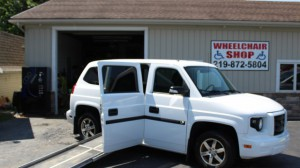 Used Wheelchair Van For Sale: 2014 Mobility Ventures MV-1  Wheelchair Accessible Van For Sale with a  on it. VIN: 57Wml2a6XEM101839