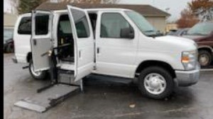 Used Wheelchair Van For Sale: 2011 Ford E-350  Wheelchair Accessible Van For Sale with a  on it. VIN: 1FBNE3BL2BDB01380