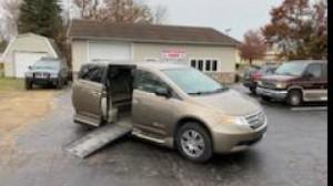 Used Wheelchair Van For Sale: 2013 Honda Odyssey EX Wheelchair Accessible Van For Sale with a VMI - Honda Northstar on it. VIN: 5FNRL5H4XDB058529