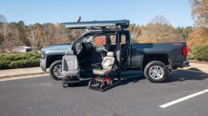 New Wheelchair Van For Sale: 2018 Chevrolet Silverado LT Wheelchair Accessible Van For Sale with a ATC Wheelchair Truck Conversions - 1500 Chevy & GMC Trucks on it. VIN: 3GCUKREC8JG07884