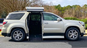 Used Wheelchair Van For Sale: 2016 GMC Acadia Limited  Wheelchair Accessible Van For Sale with a ATC Wheelchair Truck Conversions - Chevy, GMC & Cadalliac Suv's on it. VIN: 1GKKRRKD2GJ254238
