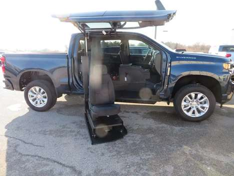 New Wheelchair Van For Sale: 2021 Chevrolet Silverado S Wheelchair Accessible Van For Sale with a ATC on it. VIN: 1GCPWBEF1MZ110854