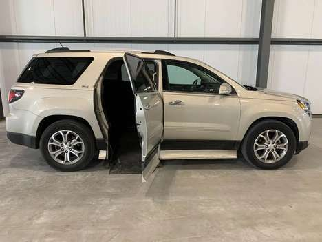 Used Wheelchair Van For Sale: 2015 Gmc Acadia SLT Wheelchair Accessible Van For Sale with a  on it. VIN: 1GKKRRKD2FJ264217