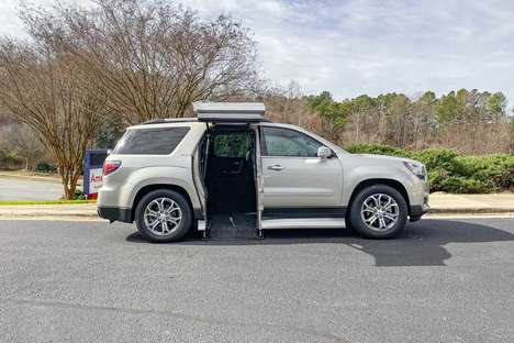 Used Wheelchair Van For Sale: 2016 Gmc Acadia SLT Wheelchair Accessible Van For Sale with a  on it. VIN: 1GKKRRKD2GJ254238