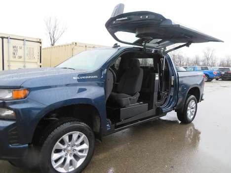 New Wheelchair Van For Sale: 2021 Chevrolet Silverado S Wheelchair Accessible Van For Sale with a ATC on it. VIN: IGCUYBEF0MZ109871