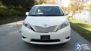 Used Wheelchair Van For Sale: 2016 Toyota Sienna LE Wheelchair Accessible Van For Sale with a VMI VMI Northstar E Toyota  on it. VIN: 5TDKK3DC8GS752755