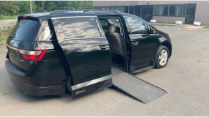 Used Wheelchair Van For Sale: 2012 Honda Odyssey Touring Wheelchair Accessible Van For Sale with a VMI - Honda Northstar on it. VIN: 2D4GP44L67R139789