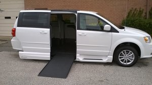 New Wheelchair Van For Sale: 2016 Dodge Grand Caravan SXT Wheelchair Accessible Van For Sale with a VMI Dodge Northstar on it. VIN: 2C4RDGCG4GR202529