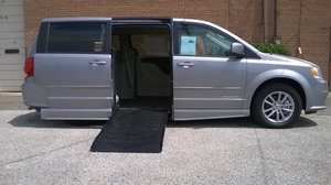 New Wheelchair Van For Sale: 2015 Dodge Grand Caravan SXT Wheelchair Accessible Van For Sale with a Eldorado National Amerivan Dodge & Chrysler Amerivan on it. VIN: 2C7WDGCG1FR703608