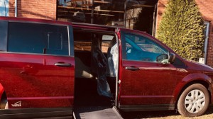 New Wheelchair Van For Sale: 2019 Dodge Caravan  Wheelchair Accessible Van For Sale with a VMI - VMI Dodge APEX on it. VIN: 2C4RDGBG3KR601457