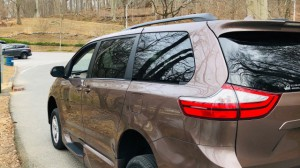 New Wheelchair Van For Sale: 2019 Toyota Sienna LE Wheelchair Accessible Van For Sale with a VMI - Toyota NorthstarAccess360 on it. VIN: STDKZ3DC8KS986981