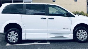 Used Wheelchair Van For Sale: 2019 Dodge Caravan  Wheelchair Accessible Van For Sale with a BraunAbility - Dodge CompanionVan on it. VIN: 2C7WDGBG4KR727056