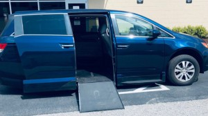 Used Wheelchair Van For Sale: 2014 Honda Odyssey  Wheelchair Accessible Van For Sale with a VMI - Honda Northstar on it. VIN: 5FNRL5H64EB101636