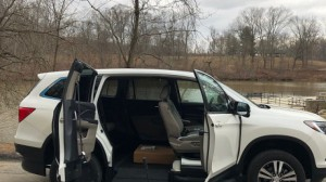 New Wheelchair Van For Sale: 2018 Honda Pilot  Wheelchair Accessible Van For Sale with a VMI - VMI Honda Pilot with Northstar E on it. VIN: SFNYF5H74JB003535