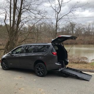 Used Wheelchair Van For Sale: 2019 Chrysler Pacifica Touring Wheelchair Accessible Van For Sale with a Revability - Chrsyler Pacifica ADVANTAGE RE on it. VIN: KR574517