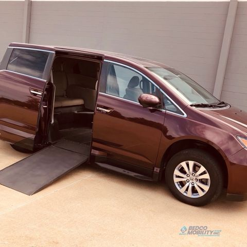 Used Wheelchair Van For Sale: 2014 Honda Odyssey EX-L Wheelchair Accessible Van For Sale with a VMI - Honda Northstar on it. VIN: