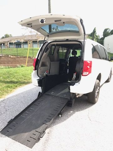 Used Wheelchair Van For Sale: 2017 Dodge Caravan SXT Wheelchair Accessible Van For Sale with a VMI - VMI Dodge Verge II E on it. VIN:
