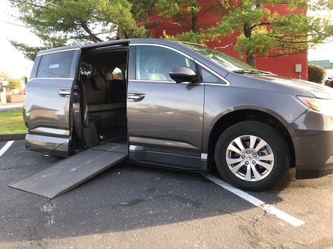 Used Wheelchair Van For Sale: 2016 Honda Odyssey SE Wheelchair Accessible Van For Sale with a VMI - Honda Northstar on it. VIN: Stock # AB042964