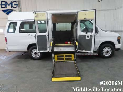 Used Wheelchair Van For Sale: 2010 Ford Econoline EX Wheelchair Accessible Van For Sale with a  on it. VIN: 1FTNS2EW8ADA38126