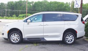 New Wheelchair Van For Sale: 2017 Chrysler Pacifica Touring Wheelchair Accessible Van For Sale with a   on it. VIN: 2C4RC1BG0HR759975