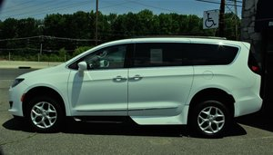 New Wheelchair Van For Sale: 2017 Chrysler Pacifica Touring Wheelchair Accessible Van For Sale with a   on it. VIN: 2C4RC1BG4HR759802