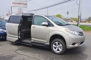 New Wheelchair Van For Sale: 2017 Toyota Sienna LE Wheelchair Accessible Van For Sale with a   on it. VIN: 5TDKZ3DC2HA825227