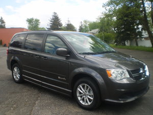 New Wheelchair Van For Sale: 2016 Dodge Grand Caravan SXT Wheelchair Accessible Van For Sale with a BraunAbility CP CompanionVan Plus BL on it. VIN: 14050