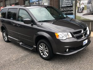 Used Wheelchair Van For Sale: 2015 Dodge Grand Caravan SXT Wheelchair Accessible Van For Sale with a VMI Power Infloor on it. VIN: 18693