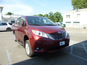 New Wheelchair Van For Sale: 2016 Toyota Sienna XLE Wheelchair Accessible Van For Sale with a VMI Northstar on it. VIN: 5401