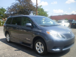 New Wheelchair Van For Sale: 2016 Toyota Sienna LE Wheelchair Accessible Van For Sale with a Braun Rampvan XT on it. VIN: 5648