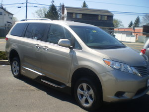 New Wheelchair Van For Sale: 2017 Toyota Sienna LE Wheelchair Accessible Van For Sale with a VMI - NS Northstar on it. VIN: 7293