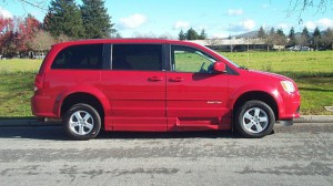 Used Wheelchair Van For Sale: 2012 Dodge Grand Caravan SXT  Wheelchair Accessible Van For Sale with a Eldorado National Amerivan - Dodge & Chrysler Amerivan RL on it. VIN: 358189