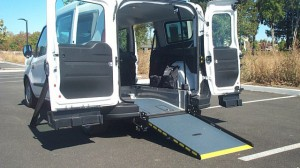 Used Wheelchair Van For Sale: 2018 Ram Promaster  Wheelchair Accessible Van For Sale with a Sunset Vans Inc - Ram ProMaster City on it. VIN: K46446