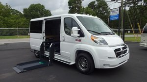 New Wheelchair Van For Sale: 2017 Ram Promaster Low Roof Wheelchair Accessible Van For Sale with a Non Branded Tempest X on it. VIN: 3C6TRVAG8HE500543