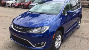 New Wheelchair Van For Sale: 2019 Chrysler Pacifica Touring Wheelchair Accessible Van For Sale with a VMI - Chrysler Pacifica Northstar Access360 by VMI on it. VIN: 2C4RC1EG7KR644274