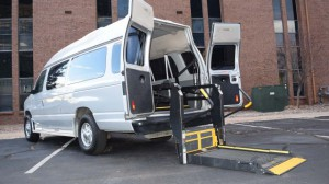 Used Wheelchair Van For Sale: 2010 Ford E-Series Wagon  Wheelchair Accessible Van For Sale with a Non Branded - Wheelchair Lift & Tiedowns on it. VIN: 1FBSS3BL3ADA54192