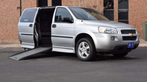 Used Wheelchair Van For Sale: 2008 Chevrolet Uplander LT Wheelchair Accessible Van For Sale with a BraunAbility - Chevrolet Entervan on it. VIN: 1GBDV131X8D205153