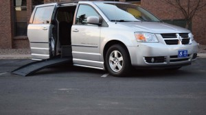 Used Wheelchair Van For Sale: 2010 Dodge Grand Caravan SXT  Wheelchair Accessible Van For Sale with a BraunAbility - Dodge CompanionVan on it. VIN: 2D4RN5D13AR202723