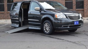 Used Wheelchair Van For Sale: 2011 Chrysler Town and Country Limited  Wheelchair Accessible Van For Sale with a Rollx Vans - Rollx In Floor Chrysler on it. VIN: 2A4RR6DG6BR745636