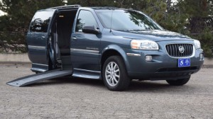 Used Wheelchair Van For Sale: 2005 Buick Terraza CX  Wheelchair Accessible Van For Sale with a BraunAbility - Buick Entervan on it. VIN: 5GADV23L05D157663
