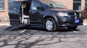 Used Wheelchair Van For Sale: 2015 Dodge Grand Caravan SE Plus  Wheelchair Accessible Van For Sale with a BraunAbility - Dodge Entervan XT on it. VIN: 2C4RDGBG0FR686411