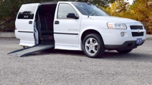 Used Wheelchair Van For 2006 Chevrolet Uplander Lt Accessible With