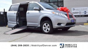 67af88cb7d Used Wheelchair Van For Sale  2015 Toyota Sienna LE Wheelchair Accessible  Van For Sale with