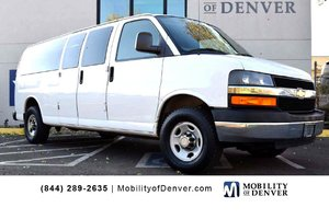 Used Wheelchair Van For Sale: 2009 Chevrolet Express Extended  Wheelchair Accessible Van For Sale with a  on it. VIN: 1GAHG39K191117073